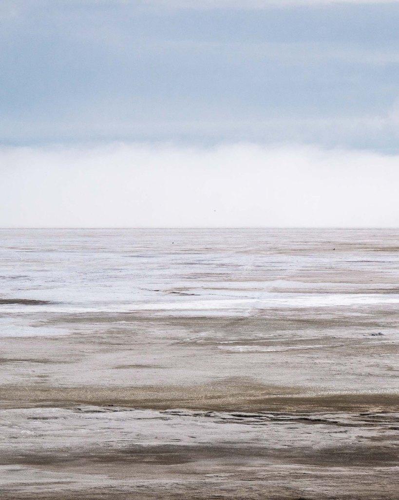 Il mar Baltico ghiacciato nel golfo di Botnia