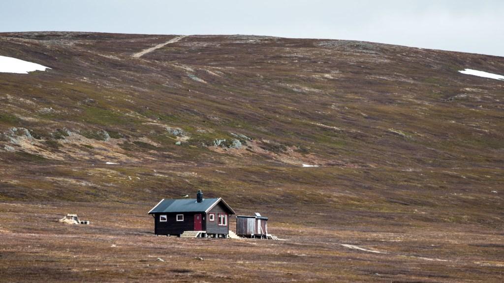 Hytta nord norvegia varanger penisola