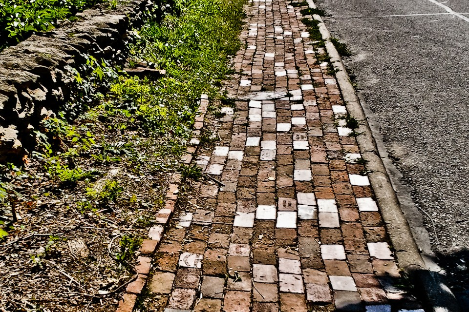The Old West Brick Road