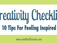 Creativity Checklist