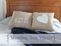 Personalized Gift Tutorial: Painted Pillows