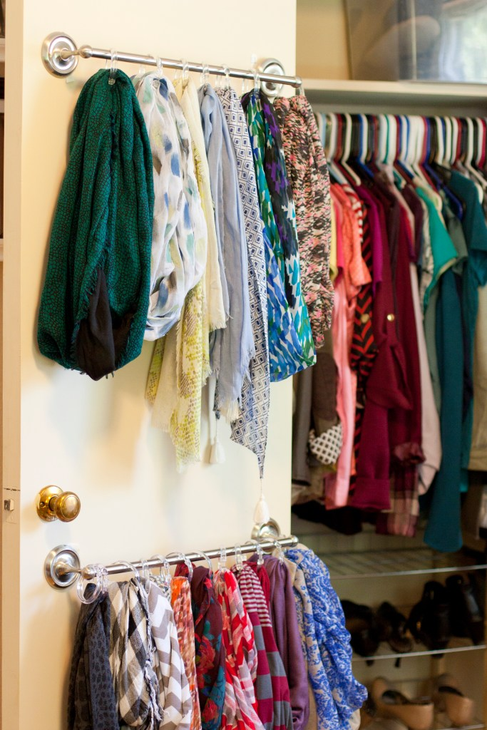 DIY this handy scarf organizing in under an hour with just $25 in supplies
