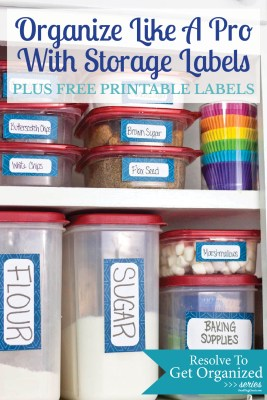 Time to get organized! I just need to download these cute printable storage labels and start organizing.