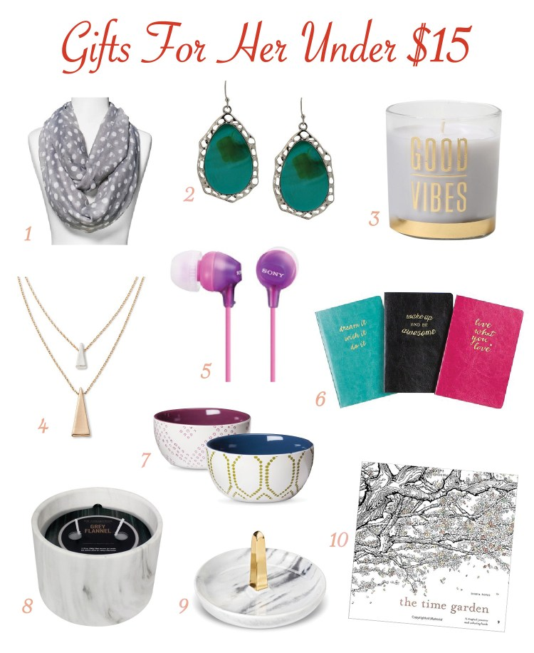 Fun and affordable gift ideas for your mom, sister, girlfriend, and bff.