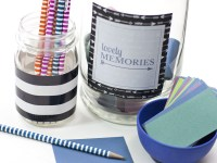 Memory Jar Gift Idea {with free printable label}