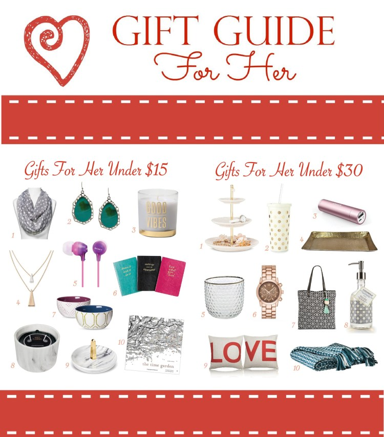 Fun and affordable Valentine gift ideas for your mom, sister, girlfriend, and bff.
