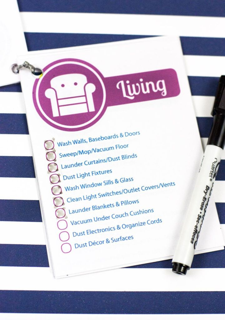 How great is this?! Free spring cleaning printable checklist - downloading this now.