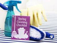 Mini Printable Spring Cleaning Checklist