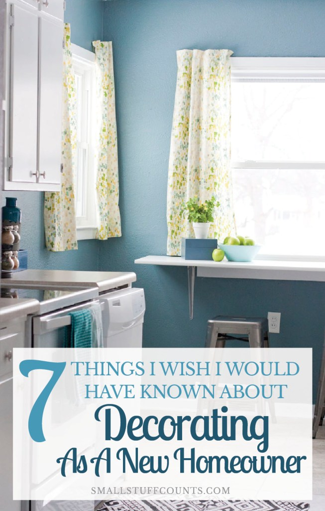 This list is a must-read!!! 7 things to keep in mind when you start decorating your new house.