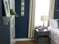 Take The Tour: Navy Bedroom Reveal {One Room Challenge Finale}