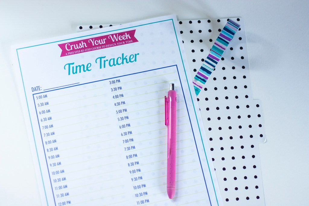 time-tracker-printable-flatlay