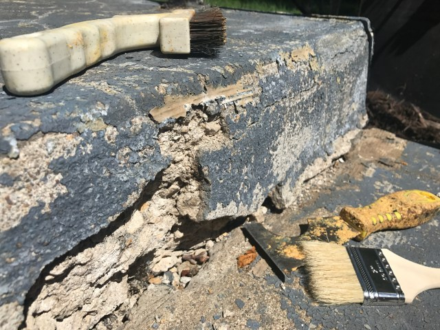 Patching Concrete Steps – Our Front Step Transformation - Small
