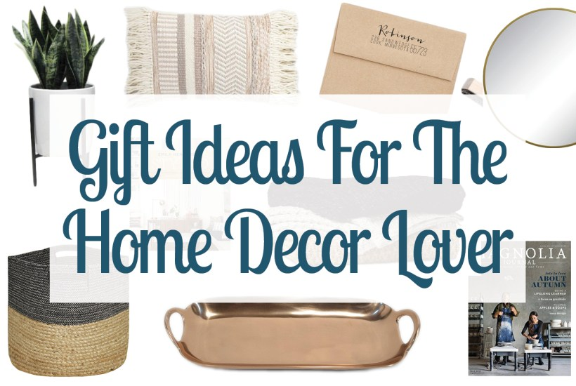 Looking for gift ideas for a home lover? Check out this gift guide of home decor gift ideas that are sure to wow any interior design enthusiast. Christmas Gift Ideas | Holiday Home Decor Gifts | Decorating Gift Guide | Gifts For DIY And Decorators | Creative Gifts For The Home