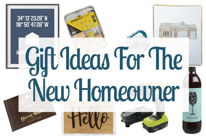 Check out these gift ideas for new homeowners. These gift ideas are perfect for the person on your list who just moved into a new home. Happy gift giving!
