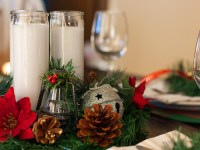 A Classic Plaid Christmas Tablescape