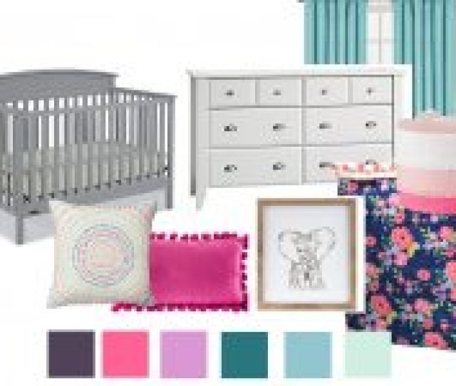 Colorful Nursery Decor For Our Baby Girl