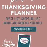 image of thanksgiving planning printable
