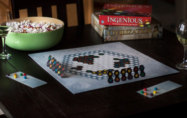 Check out this casual tablescape and her board game ideas! What a great idea for a date night at home when you're on a budget. Love the idea of making date night special by setting a pretty but casual tablescape.