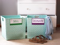 Decluttering With Free Printable Sorting Signs