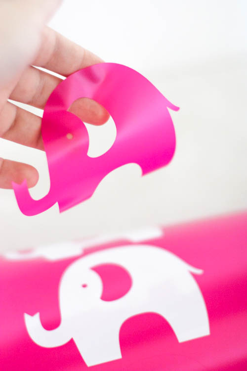 pink-vinyl-elephant-cut-with-silhouette