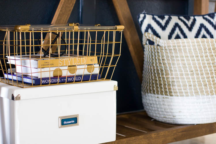 storage-box-and-basket-in-small-entryway