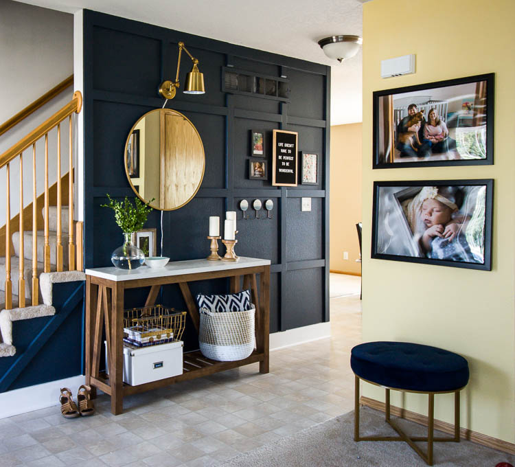 navy-board-and-batten-wall-in-entryway