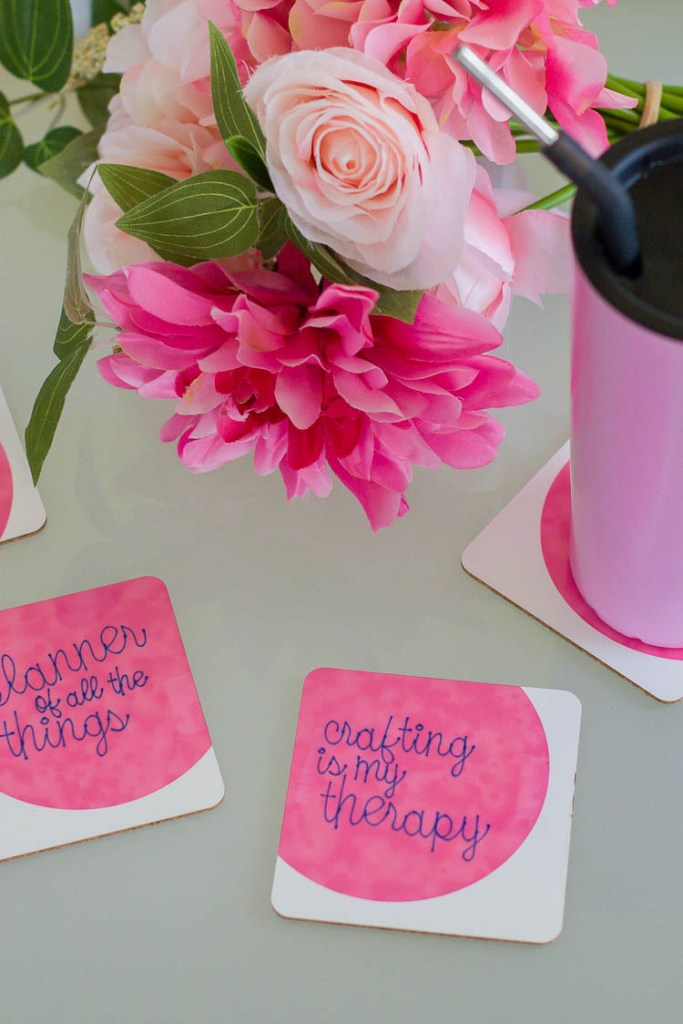 colorful-coasters-and-flowers
