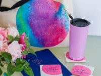 Planner Lover DIY Tote And Coasters [Featuring Cricut's New Infusible Ink]