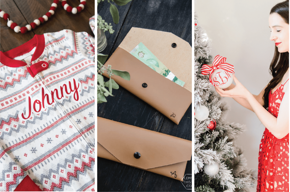 25 Personalized Gifts Made With Cricut Small Stuff Counts