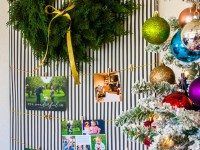 Easy DIY Christmas Card Holder (And Our Mixbook Christmas Cards!)