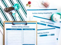Organize Your Christmas Cookie Baking Schedule (Free Printables)