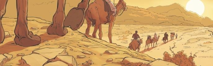 Rimbaud l'explorateur : la face cachée du poète racontée en BD