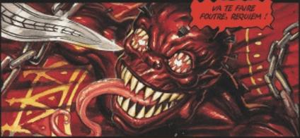 Planche extraite de Requiem - Dracula