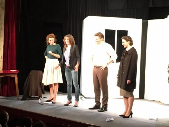 Les acteurs avec Elodie Menant