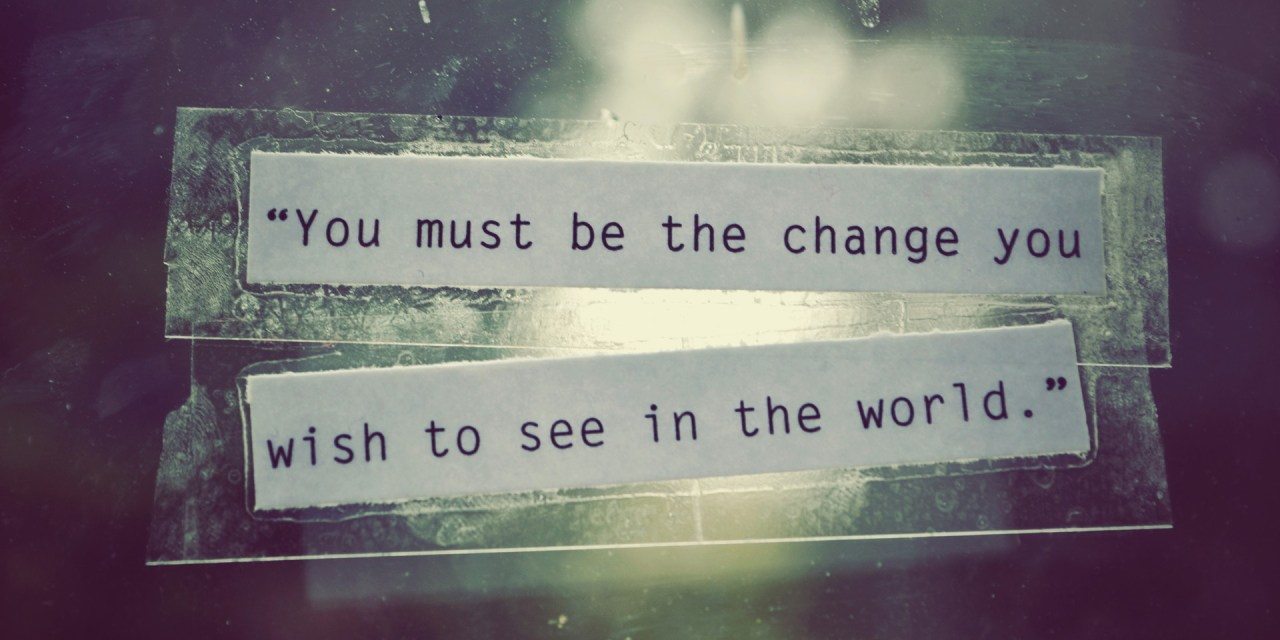 [Be The Change] Sourire pour rien c'est déjà beaucoup :)