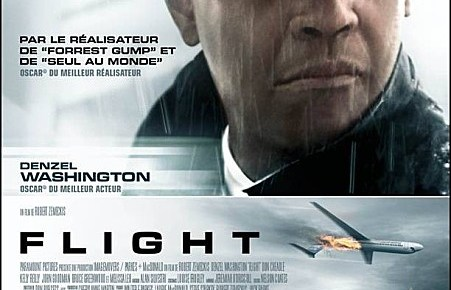 denzel washington - Flight : fauché en plein vol FLIGHT affiche
