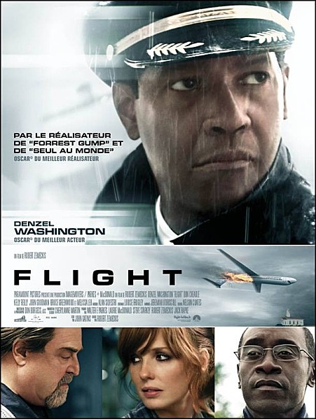 denzel washington - Flight : fauché en plein vol