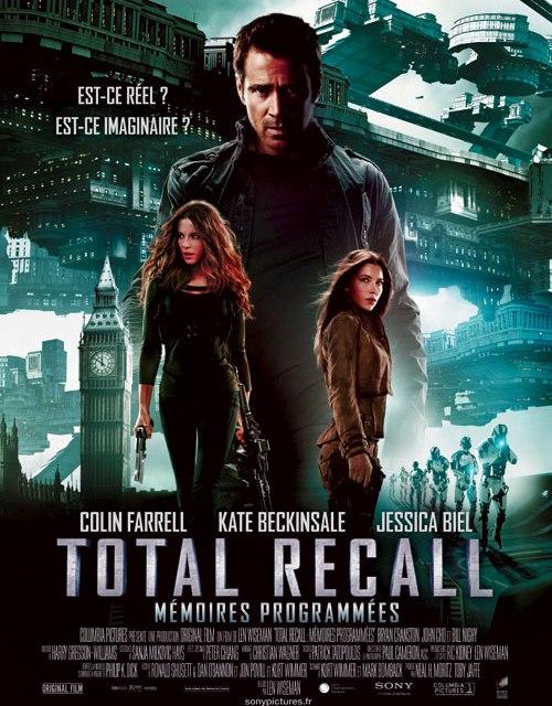 Total Recall Mémoires programmées : Lens Flares le film !