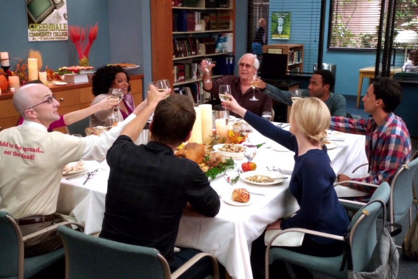 Community – 4×05 – Cooperative Escapism in Familial Relations