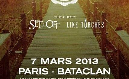 Yellowcard – Bataclan – 7 mars 2013