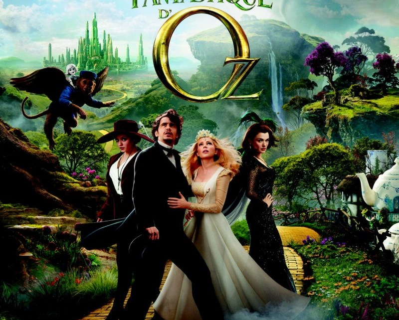 sam raimi - Le Monde Fantastique d'Oz : Alice, ça glisse Le monde fantastique dOz affiche française e1363009347865
