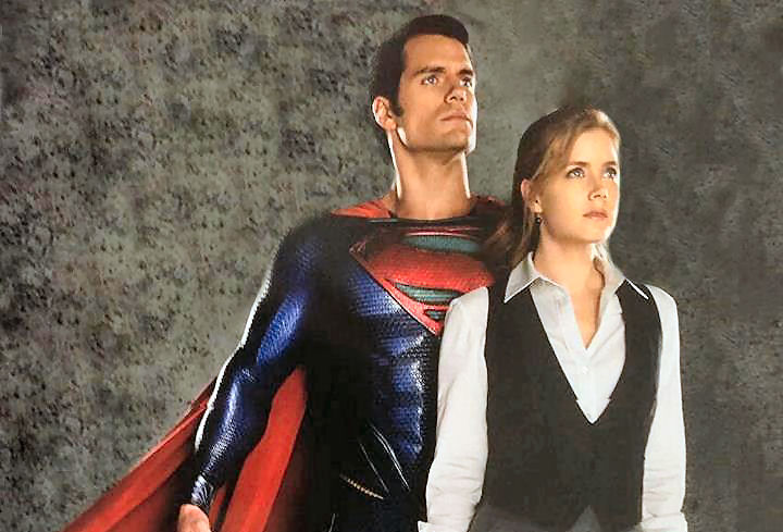 Man Of Steel : Lois et Superman ensemble en couverture