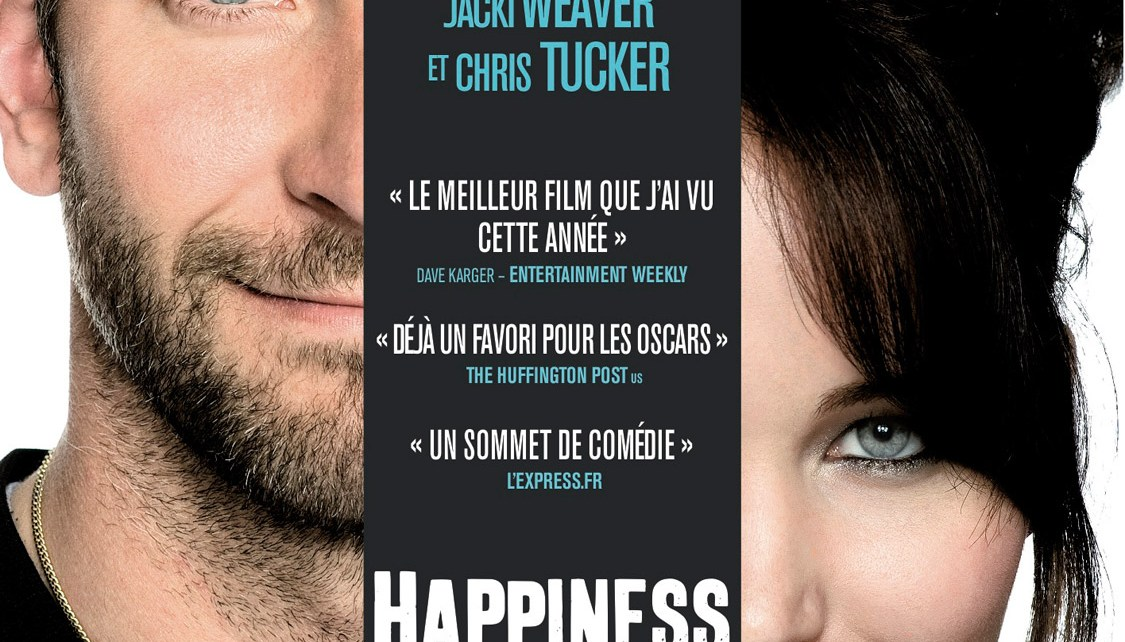 bradly cooper - Happiness Therapy : une bonne prescription affiche Happiness Therapy Silver Linings Playbook 2012 1