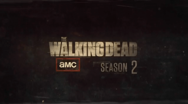 walkind dead saison 2 - Walking Dead, saison 2, les morts courent toujours The Walking Dead Season 2 logo
