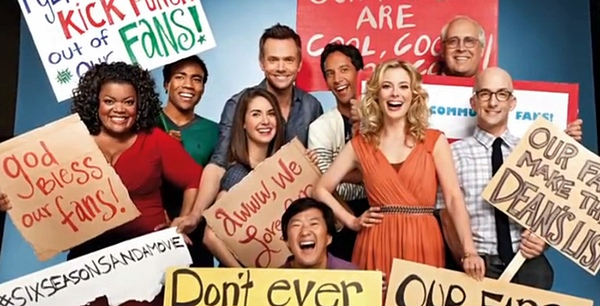 six seasons and a movie - Yahoo ! Community aura une saison 6, voire plus. community season4