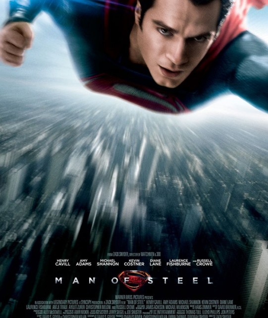 superman - Man Of Steel : nouvelle affiche manofsteelsupermanposter