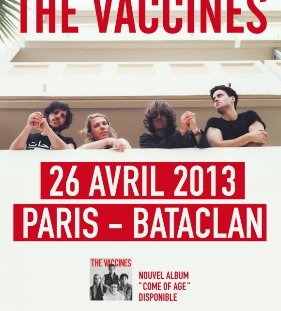 concert - The Vaccines - Bataclan - 26 avril 2013 the vaccines e1364982918317