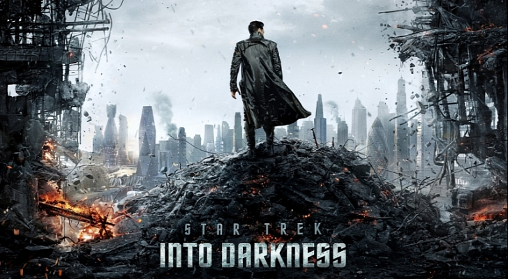 jj abrams - Star Trek Into Darkness, entreprise recommandable Star Trek Into Darkness affiche officielle