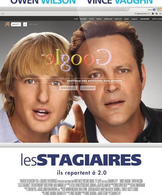 affiche Les Stagiaires