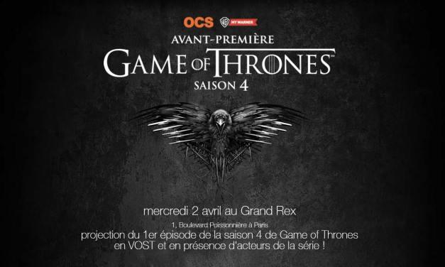 Game Of Thrones en dédicace à Paris